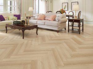 Herringbone Parquet Bare Timber IMpervia Luxury Flooring 943-13