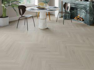 Impervia Herringbone Parquet flooring Scandinavian Oak P Code 01-LS52456 HB